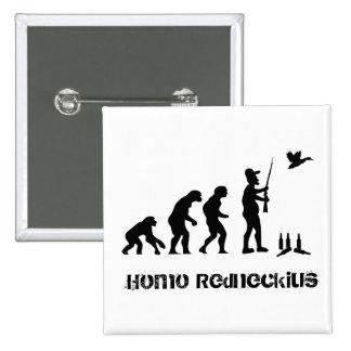 Bubba - Homo Redneck ius 15 Cm Square Badge