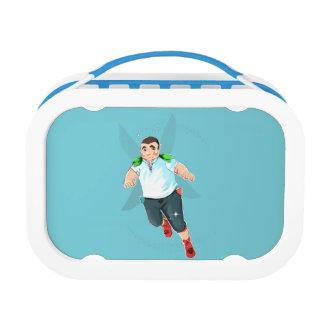 Bubba Yubo Lunchbox, Blue Lunch Box
