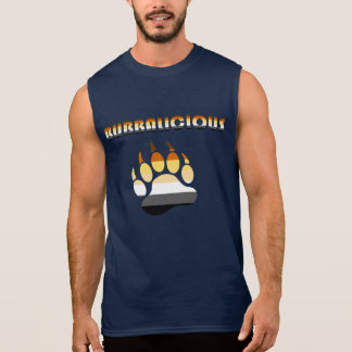 Bubbalicious Gay Bear Chub Bear Pride Sleeveless Shirt
