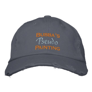 Bubba's Painting Embroidered Hats