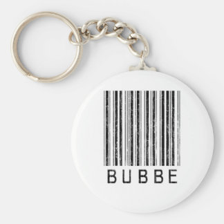 Bubbe Barcode Key Ring