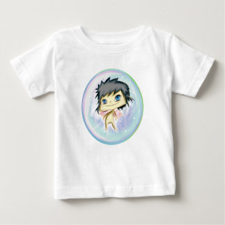 Bubble Angel Blue Number 2 Baby T-Shirt