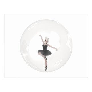 Bubble Ballerina 1 Post Card