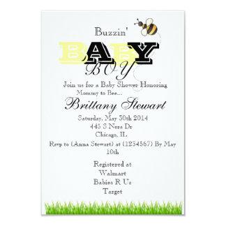 Bubble Bee Invitation
