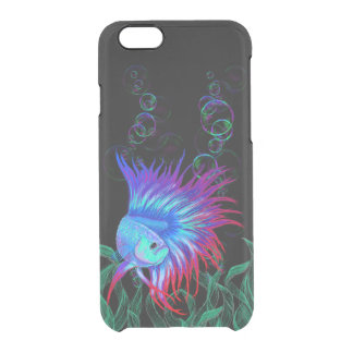 Bubble Betta Clear iPhone 6/6S Case