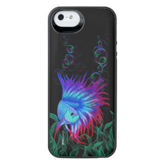 Bubble Betta iPhone SE/5/5s Battery Case