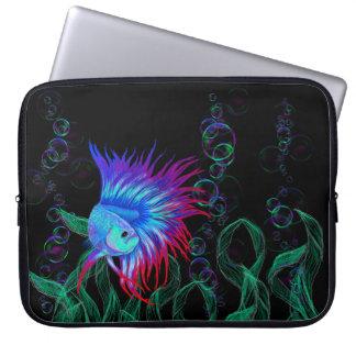 Bubble Betta Laptop Sleeve