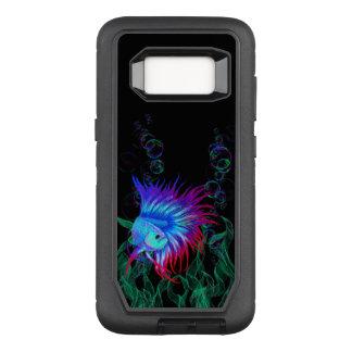 Bubble Betta OtterBox Defender Samsung Galaxy S8 Case