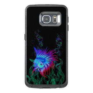 Bubble Betta OtterBox Samsung Galaxy S6 Edge Case