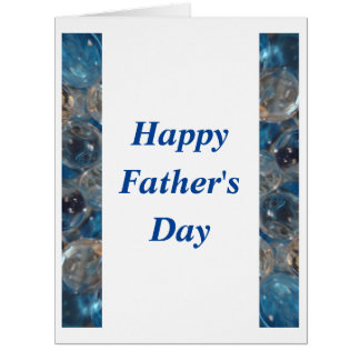 Bubble Blue - Father's Day 2 Card