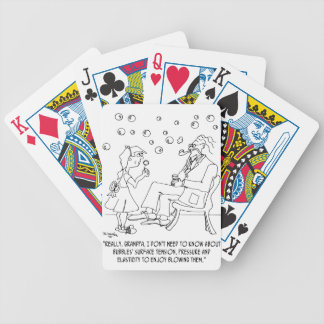 Bubble Cartoon 0619 Bicycle Playing Cards