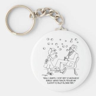 Bubble Cartoon 0619 Key Ring