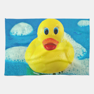 Bubble Duck Tea Towel