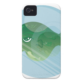 Bubble Fish iPhone 4 Cover