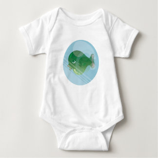 Bubble Fish Jersey T Shirt