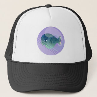 Bubble Fish Trucker Hat