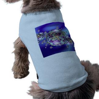 Bubble Galaxy Sleeveless Dog Shirt