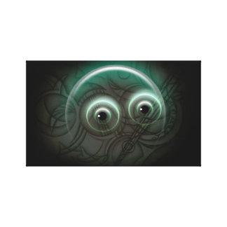 Bubble Glow Canvas Prints