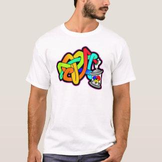 BUBBLE GRAFFITI SPRAY CAN SUBWAY ART THROW UP T-Shirt