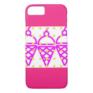 Bubble Gum Ice Cream iPhone 7 Case