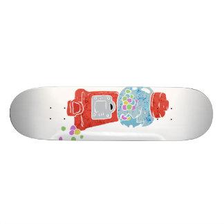 Bubble gum machine. 18.1 cm old school skateboard deck