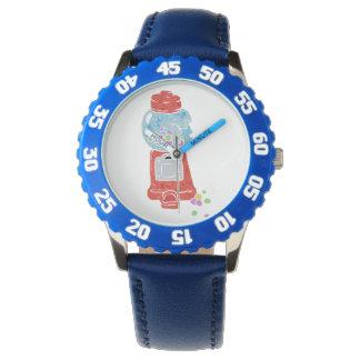 Bubble gum machine. wristwatch