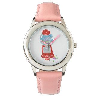 Bubble gum machine. wristwatches