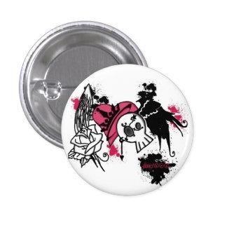 Bubble-gum punker Button