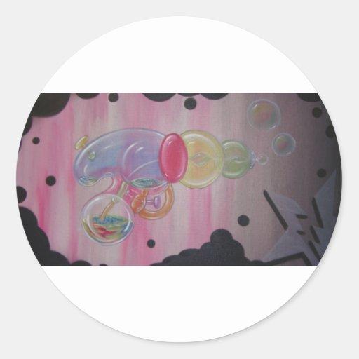 bubble gun stickers