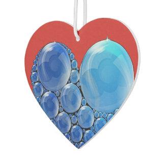 Bubble Heart Air Freshener