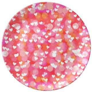Bubble Hearts Plate