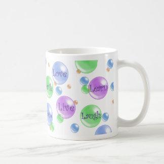 Bubble Inspiration Basic White Mug