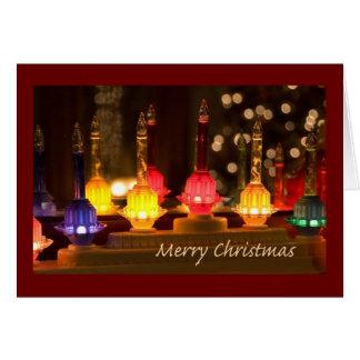 Bubble Light Christmas Card