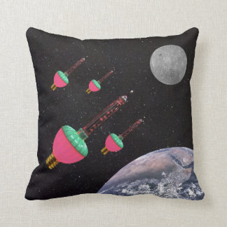 Bubble Lights in Space Cushion