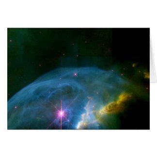 Bubble Nebula Card