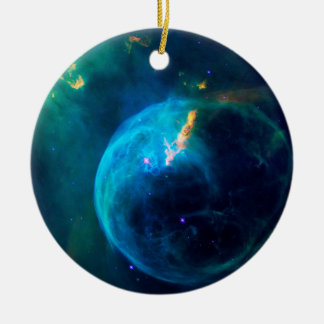 Bubble Nebula Ceramic Ornament