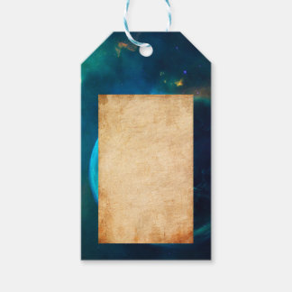 Bubble Nebula Gift Tags