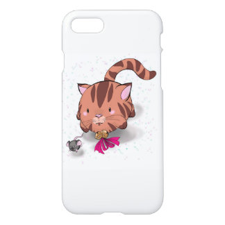 Bubble pet cat and mouse  iPhone 7 phone case