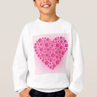 Bubble Pink  Hart Sweatshirt