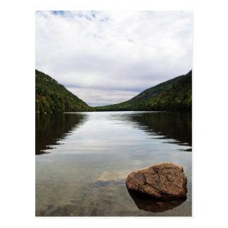 Bubble Pond Acadia Park Postcard