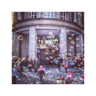 Bubble, Prague Canvas Print