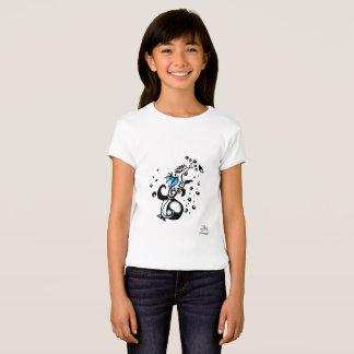 Bubble Tattoo dragon Girls Shirt