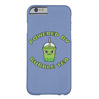 Bubble Tea, Powered By Bubble Tea - Cute Kawaii Barely There iPhone 6 Case