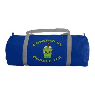 Bubble Tea, Powered By Bubble Tea - Cute Kawaii Gym Bag