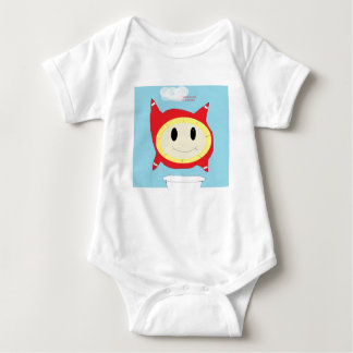 bubble thing baby bodysuit