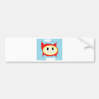 bubble thing bumper sticker