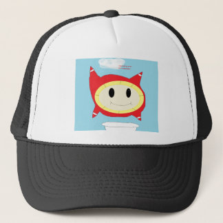 bubble thing trucker hat