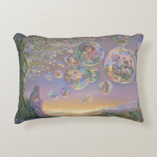 """Bubble Tree"" Accent Pillow"