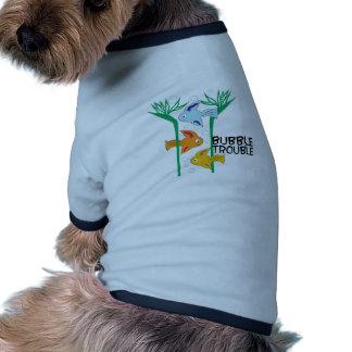 Bubble Trouble Ringer Dog Shirt