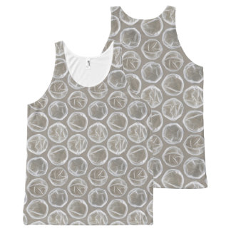 bubble wrap tee shirt t-shirt tank top All-Over print tank top